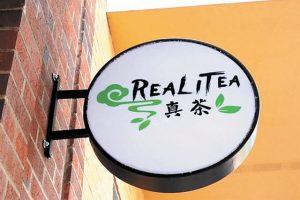 hộp đèn quảng cáo trà sữa