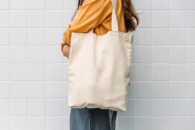 Vải canvas làm túi xách