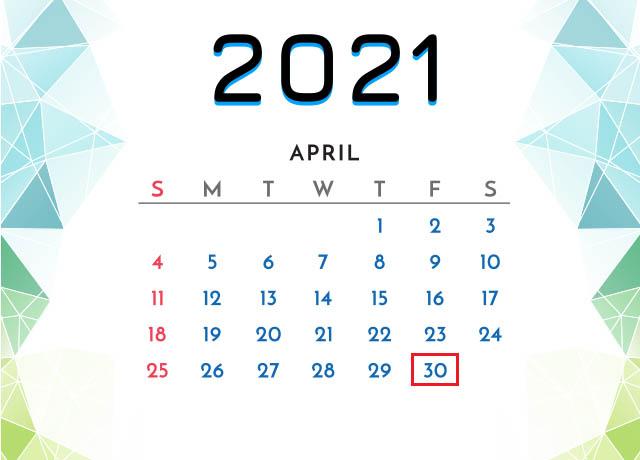 Thời gian nghỉ lễ 30/4 năm 202