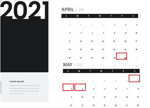 Nghỉ lễ 30/4 và 1/5 năm 2021